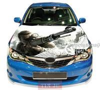 Anime Sniper Elite V2  Decal Full Color Vinyl Car hood sticker Fit Any car Graphic