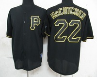 Cheap Stitched Jerseys Pittsburgh Pirates 22 Mccutchen (Fashion) Men's MLB Baseball Jerseys Free Shipping Wholesale From China