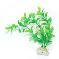 Green  Fish Tank Aquarium Plastic Water Plants Decoration