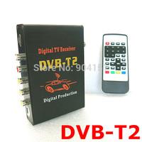 TV BOX DVB-T MPEG-4 Mobile Digital tv Tuner Receiver  channel Car PAL/NTSC radio MPEG-2 Dvb-t T2