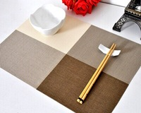 Free shipping pastoral placemat students of Chinese anti-scalding heat pad mat PVC table mats for children