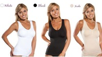 Hot sale Cami shaper by Genie with Removable Pads women tops 3 colors 1 piece