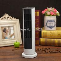 Mini usb tower rotate fan, portable hand-held fan, small bladeless home desk fan, office electric rotatable fan, Free shipping