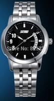 2014 Latest Style Men's quartz watch top luxury brand stainless steel Strap Men's Sport, Men watches free shipping