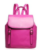 Small pure and fresh and fashion students college wind portable backpack in the summer of 2014 4 colors free shopping
