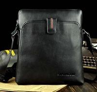 2015 genuine leather men messenger bags men's travel bags man brand bags vintage IPAD bags high quality men handbags