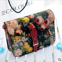 European style Painting Women messenger bag shoulder bag Messenger stereotypes handbags fashion handbags handbags Promotion