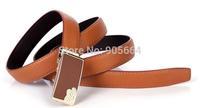 Free shipping.women' leather belt lady.genuine cow leather waist belts.fashion belt.New brand,Automatic buckle belts