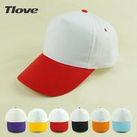 Diy tlove 100% cotton hat 5 baseball cap blank 8061 patchwork print