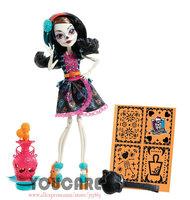 Monster High Art Class Skelita Calaveras Doll  Free shipping Best gift for girl 2014 new monster Hight doll toys