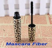Wholesale,Leopard Mascara Fiber for Lengthening Extension Eyelash Eye Lash ( using with any mascara), 100pcs/lot, free shipping