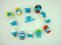 100pcs/lot Mini Capsule  Anime  Pvc  Figures  For  Boy Toys