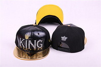 2014 New Style! Free Shipping! URBAN Swagger Snapback Hats, Dollar Sign, KING, Snapback Caps, Leather Brim, Bright Color BAR