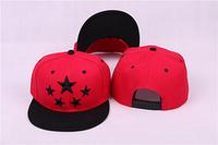 2014 New Style! Free Shipping! Star Snapback caps, 5 Starts Snapback, Star Stripe Snapback Hat, Street Fashion Caps