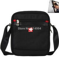 2014 New 9726 Black SwissLander messenger bag for IPAD,messenger,men's travel bags,women handbags,shoulder bag for men,New Layer