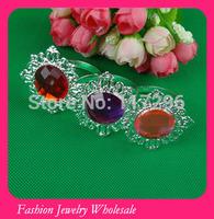 Free Shipping Wholesales Good Quality Sliver Rhinestone Napkin Rings For Wedding Decoration 100pcs/lot