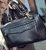 Cheap Black Large Capacity Fashion Women Handbags Brand Designer High Quality PU Women Leather Handbag Women Messenger Bags