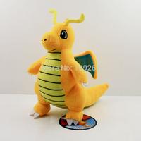 22cm Big Pokemon Plush Toys Dragonite With Tags New Fashion Cartoon Stuffed Dolls Movies & TV High Guality