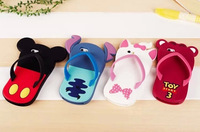 1PCS 3D silicone cartoon Mickey minnie mouse stitch Marie Cat  toy story slipper case for iphone 5 5s iphone5 cell phone cases