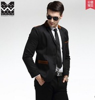 Hot 2014 New Design Mens Brand Blazer Jacket Coats,Casual Slim Fit Stylish Blazers For Men,Plus Size