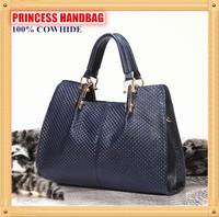 Top Quality  Designer Cowhide Leather Fashion Casual Handbag, Princess Elegant Retro Shoulder Bag,Queen Bolsa de Ombro B118