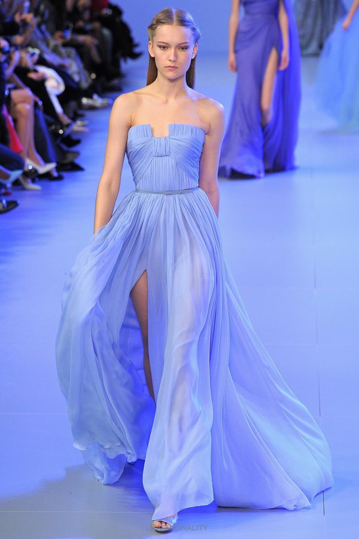 elie saab 2014 haute couture abendkleider lange vestido de festa longo ...