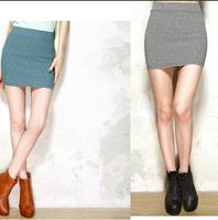 summer skirts womens saias femininas Lattice saia high waist skirt black and white plaid pencil skirt slim hip Check faldas MIDI