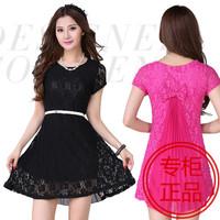 Party Dresses Real Sale Natural Vestido De Festa Vestidos Free Shipping 2014 Women Plus Size Summer Dress Pressure One-piece