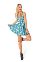 2014 Summer Skater Sexy mini casual galaxy Casual printed sundress Dress Dresses for women 60710104