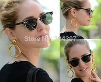 New Retro sunglasses RB3016clubmaster sun glasses women men gold oculos de sol glasses for female with original box