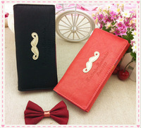 Free shipping new women fahion long wallet  PU leather wallets ladies coin purse handbag mobile bags cards holders