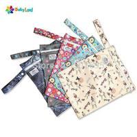 Baby diaper wet bags , waterproof rubbish bags reusable china factory wholesals 50 pcs/lot
