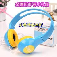 Kd-490  headset lovers candy color earphones multicolour
