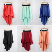 2014 Fashion womens chiffon skirts