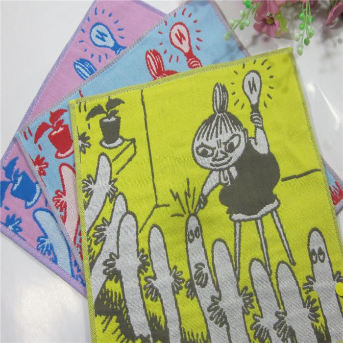клоун Муми-троллей 100% хлопок американских детей многослойные марлевые полотенце платок