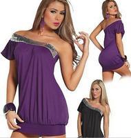 EAST KNITTING New 2014 SL-001 Bodycon Clubwear Bandage Dress Women Sexy Paillette Elegant Dresses Sleepwear High quality