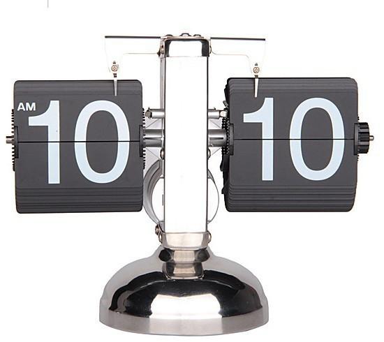 ретро автоматический баланс флип часы новизна