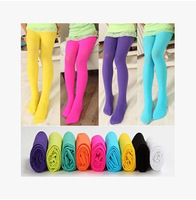 Children Clothing Wholesale 5pcs/lot,Cute Solid Color Clild Pant,Velvet Kid Pantyhose,Girl Tights Mix Colors Free Shipping