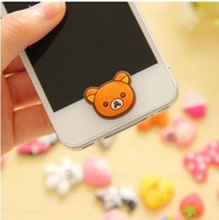 Home Button Sticker For i phone 4 S 5 S I PAD 3pcs / Lot Free Shipping