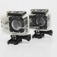 Action Camera Full HD DVR Sport DV SJ4000 1080P Helmet Waterproof Camera  Mini DV 12M Wide Angle  With Retail Package
