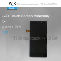 Original For Gionee Elife  E6 Lcd Display Touch Screen Digitizer Assembly black colour Free Shipping