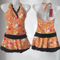 Swimwear split skirt piece set swimwear small swimwear female hot spring swimwear
