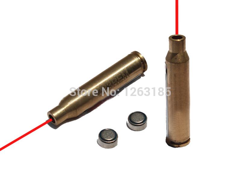 5 X 223 REM Laser Cartridge Bore Sight/ 5.56 Nato Laser Boresight ...