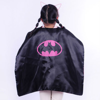 70cm Double side Batman Cape   for Children for Christmas Halloween Holiday Birthday Party