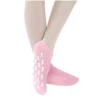 2014 new style of socks! Whitening Gel nourish SPA pedicure socks pink purple red 2pcs free shipping