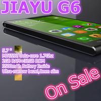 """Black In Stock Ultra Slim JIAYU G6 MTK6592 Octa Core 3G Smart Phone 13MP Camera 5.7"""" OGS Gorilla Glass Screen 2G RAM 32G ROM"""
