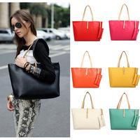 2014 Fashion New Women's Handbag Buckle Shoulder Bags Vintage Women Messenger Bag