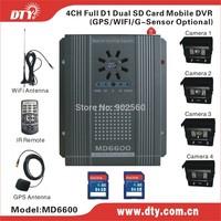 DTY MD6600GS 4 channel gps G-sensor function car dvr aliexpress