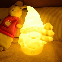 2014 New product  LED Santa night light for Christmas