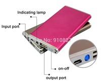 external rechargeable battery 5600mah usb power bank Ultrathin Portable External Battery Power Charger + retail package 30pcs